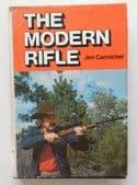 The Modern Rifle 1970s American book by Jim Carmichel game shooting gun sport